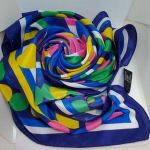"""Vintage Korean """"bubblegum"""" scarf"""